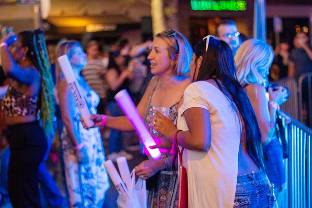 Capitol Compliance Management blog - Second saturday sacramento glow sticks nightlife midtown